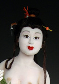 Robin Foley : one of a kind sculptural dolls :  one-of-a-kind asian inspired sculptural unique